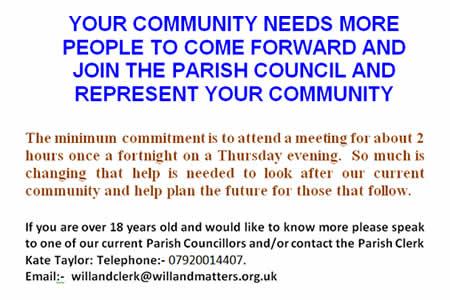 Volunteer as a Parish Councillor